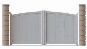 Serrure Portail Pvc : portail pvc ~ Edinachiropracticcenter.com Idées de Décoration