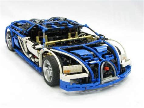 lego technic bugatti veyron   drive  real