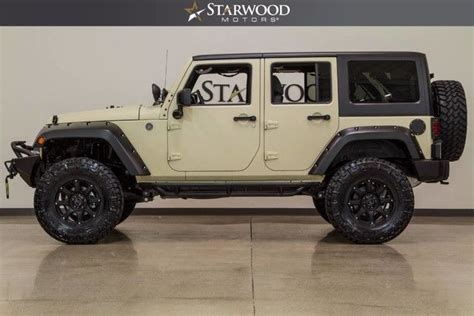tan jeep lifted fuel mileage on wrangler unlimited autos post