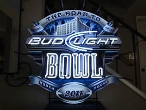 Dallas Cowboys Stadium Neon Sign Bar Light Bud Light Super