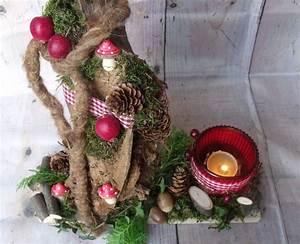 Baumstamm Deko Kaufen : adventsdekoration baumstamm von die lila villa auf creative advent baum und ~ Yasmunasinghe.com Haus und Dekorationen