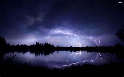 Lightning Wallpapers Storm Strike Nature Night Striking