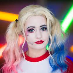 Harley Quinn Halloween Costume Makeup