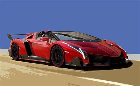 lamborghini veneno roadster  horsepower  speed