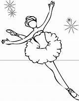 Coloring Pages Ballet Print Printable sketch template