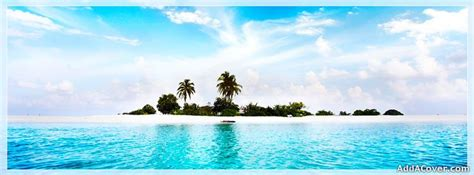 tropical beach facebook cover  images