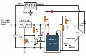 Homemade Pump 6v 12v 24v Battery Charger Circuit