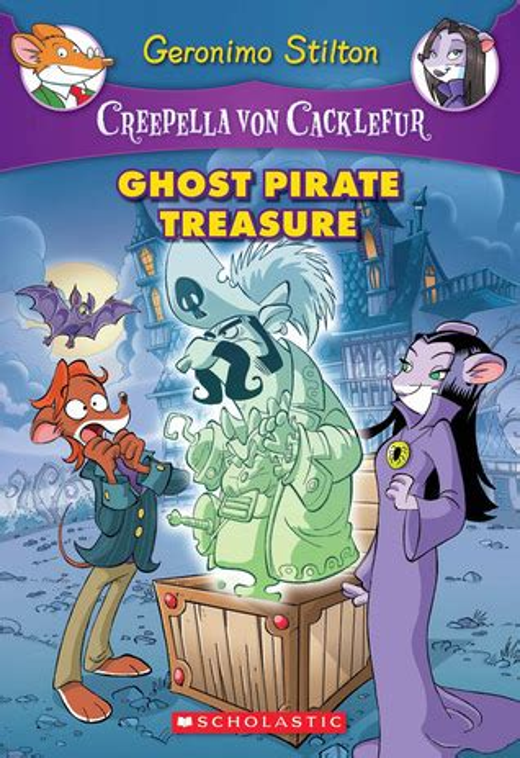 ghost pirate treasure  geronimo stilton