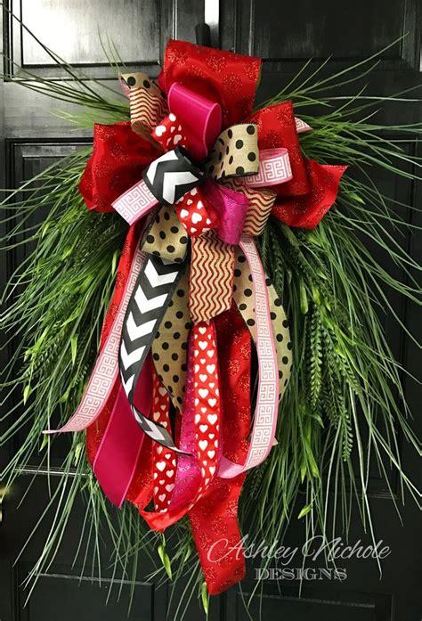 wreath bows ideas  pinterest diy bow diy