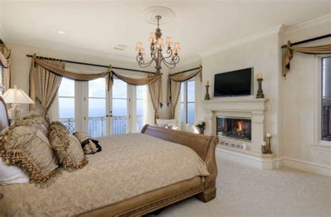 Bedroom Design With Fireplace by Luxury Master Bedrooms With Fireplaces Designing Idea