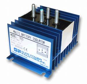 Battery Isolators For Multiple Batteries