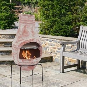 Make Your Own Chiminea by Buy Rustic Clay Chiminea With Pizza Oven 75cm Height