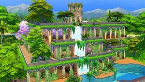 Mod The Sims - Hanging Gardens of Babylon (No CC)