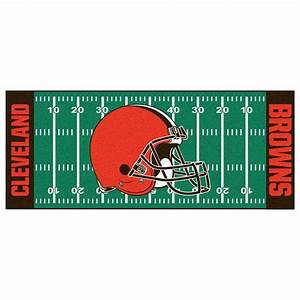 FANMATS Cleveland Browns 2 ft 6 in x 6 ft Football