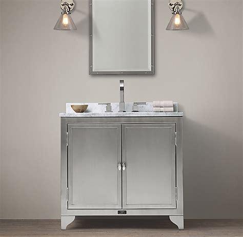 laboratory stainless steel single vanity
