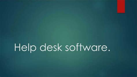 help desk software what is the best help desk software