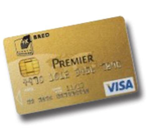 plafond visa premier banque populaire bred la carte visa premier