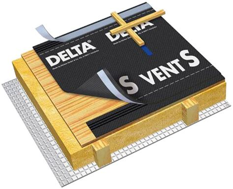 delta vent s plus гидро и пароизоляция диффузионная мембрана delta vent s
