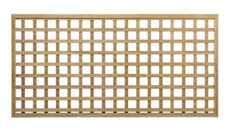 Square Wood Trellis by Made Square Trellis 68mm Gap The Garden Trellis