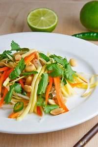 Food & Drink Around The World: Papaya-Mango Salad Thai Style