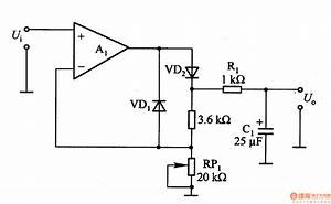 Rms    Dc Converter Circuit For Measuring Ac Voltage In Digital Multimeter