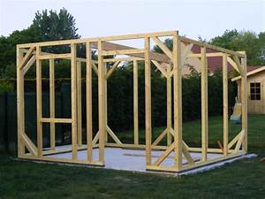 comment fabriquer un abri de jardin en bois les cabanes With fabriquer une cabane de jardin