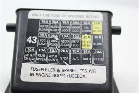 95 Impreza Fuse Diagram by 2002 2005 Subaru Impreza Wrx Sti Dash Interior Fuse Box