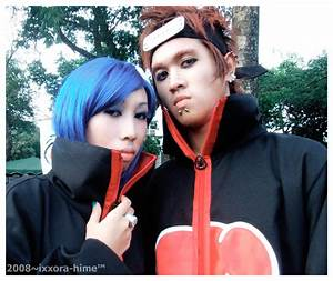 Pain X Konan Cosplay by ixxora on DeviantArt