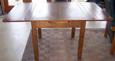 oak draw leaf pub table  antique furniture collection