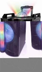 Wireless, Portable, Karaoke, Speaker, With, Disco, Dome, Light, U2013, Naxa, Electronics