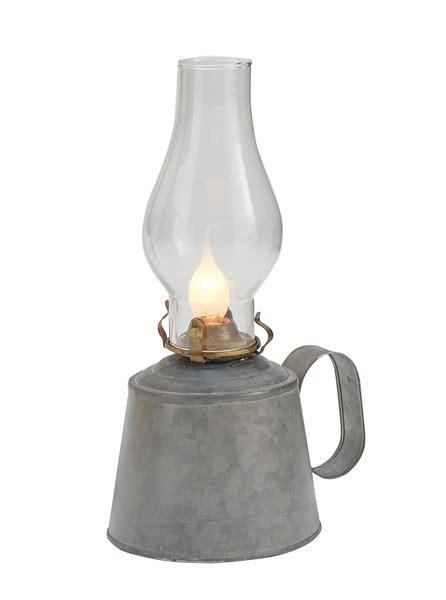 small galvanized oil lamp  globe park designs