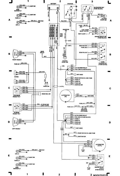 1988 Isuzu Wiring Diagram by I A 1989 Isuzu Trooper After Driving It We Shut Of