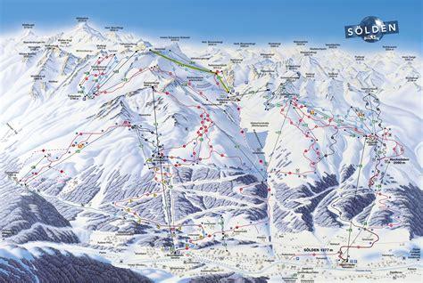 Solden - World ski resorts piste maps
