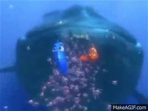 Finding Nemo 'Dory Speaking Whale' on Make a GIF