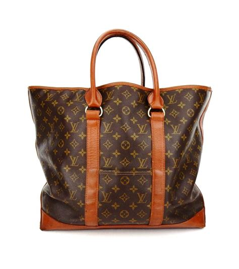 louis vuitton neverfull vintage weekender gm brown