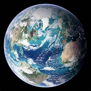 Blue Marble Image Of Earth (2005) by Nasa Earth Observatory