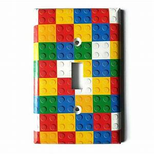 lego light switch cover light switch plate outlet cover With cover letter for lego