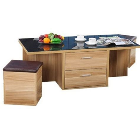 table basse avec pouf integre maison design hosnya