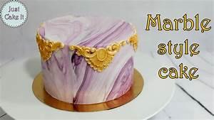 How to make marble style cake / Jak zrobić tort z efektem ...