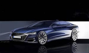Audi A : 2018 audi a8 d5 unveiled plays technology card in luxury segment autoevolution ~ Gottalentnigeria.com Avis de Voitures