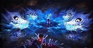 Breathtaking art of the genocide final boss fight ...