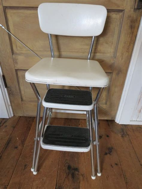 Cosco Step Stool Chair Vintage by Pin By Treasureagain On Antique