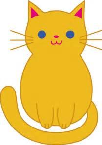 cat clipart cat clip orange kitten clip cats
