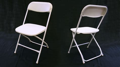 standard white folding chair rental iowa city cedar