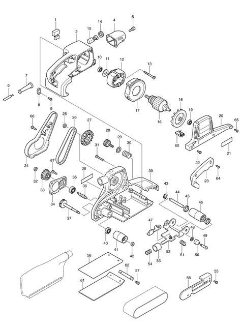 30 Belt Sander Parts Diagram - Diagram Example Database