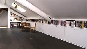 Commode Sous Pente : amenagement chambre sous pente tout pour votre chambre ~ Edinachiropracticcenter.com Idées de Décoration