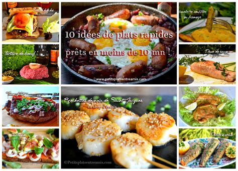 id馥 de plat a cuisiner idées de recettes de plat faciles et rapides petits plats entre amis