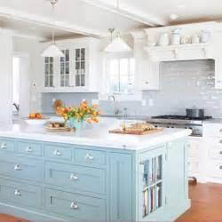 painted kitchen islands bhg centsational style