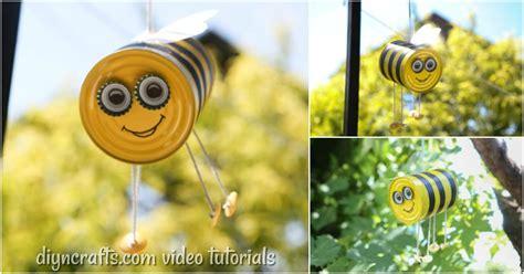 diy hanging bee craft garden decoration diy crafts