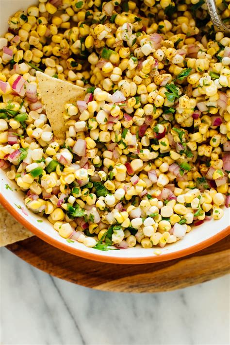 fresh corn salsa recipe cookie  kate